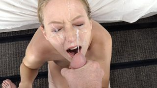 Exploited College Girls Autumn Fuck and Swallow